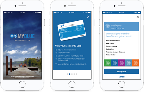 Blue Cross Blue Shield of MA Native App 2.0